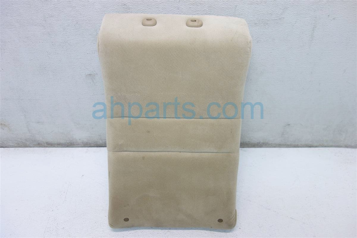 2006 Honda Civic Back 2nd row Rear passenger SEAT UPPER PORTION BEIGE 82127 SNE A21 82127SNEA21 Replacement