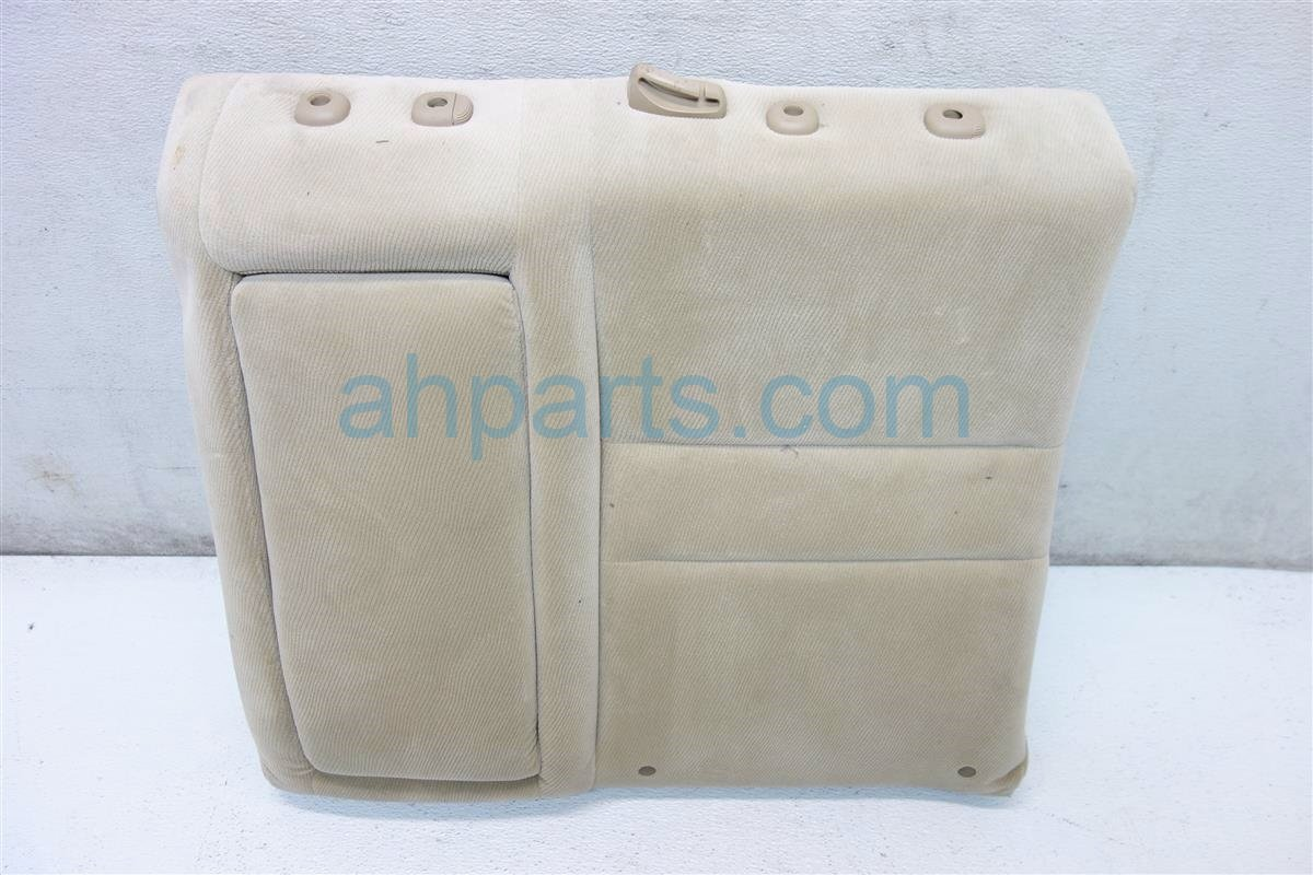 2006 Honda Civic Back 2nd row Rear driver SEAT UPPER PORTION BEIGE 82526 SNA A21 82526SNAA21 Replacement