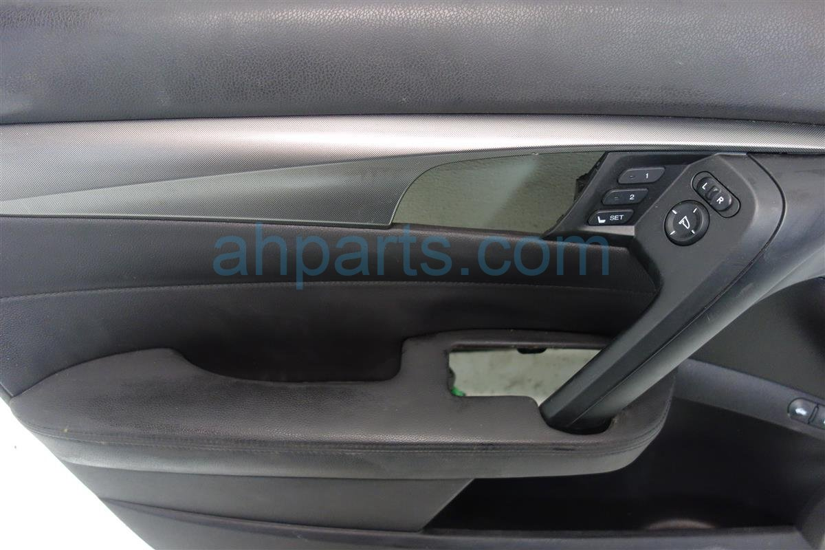 2012 Acura TL Front driver DOOR PANEL TRIM LINER BLACK 83551 TK4 A05ZB 83551TK4A05ZB Replacement