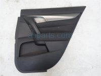 2012 Acura TL Rear passenger DOOR PANEL TRIM LINER BLACK 83701 TK4 A05ZB 83701TK4A05ZB Replacement