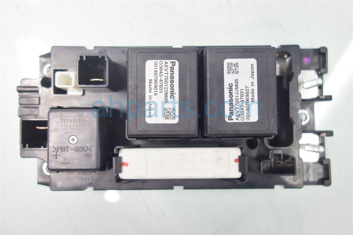2014 toyota prius v battery relay juntion box g92z1 07020. Black Bedroom Furniture Sets. Home Design Ideas