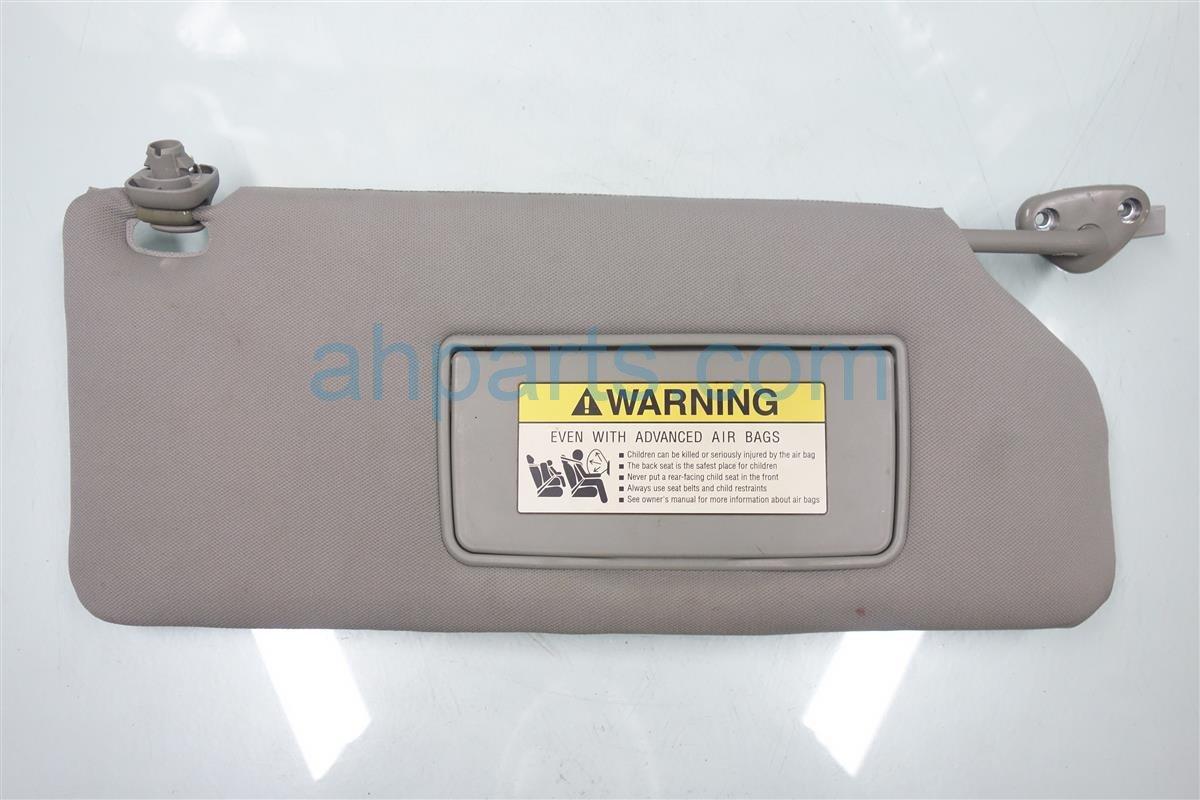 2007 Honda Odyssey Passenger SUN VISOR gray 83230 SHJ A12ZB 83230SHJA12ZB Replacement