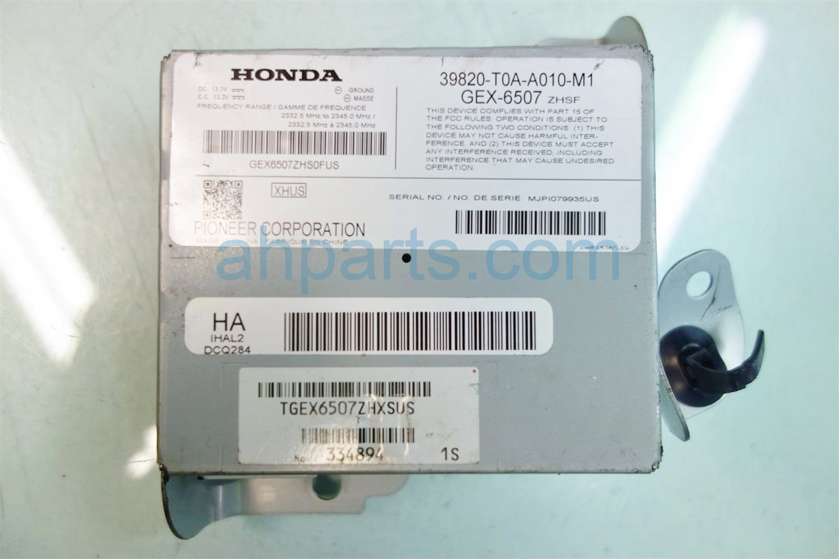 2012 Honda CR V XM UNIT 39820 T0A A01 39820T0AA01 Replacement