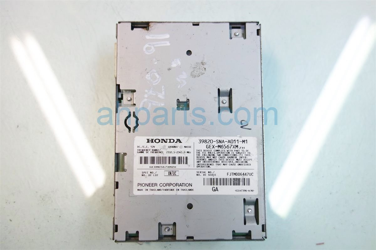 2007 Honda Civic XM UNIT 39820 SNA A01 39820SNAA01 Replacement