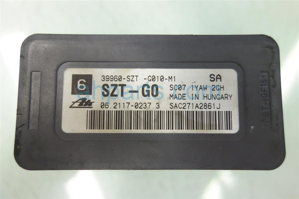 2012 Acura TL YAW RATE 39960 SZT G01 39960SZTG01 Replacement