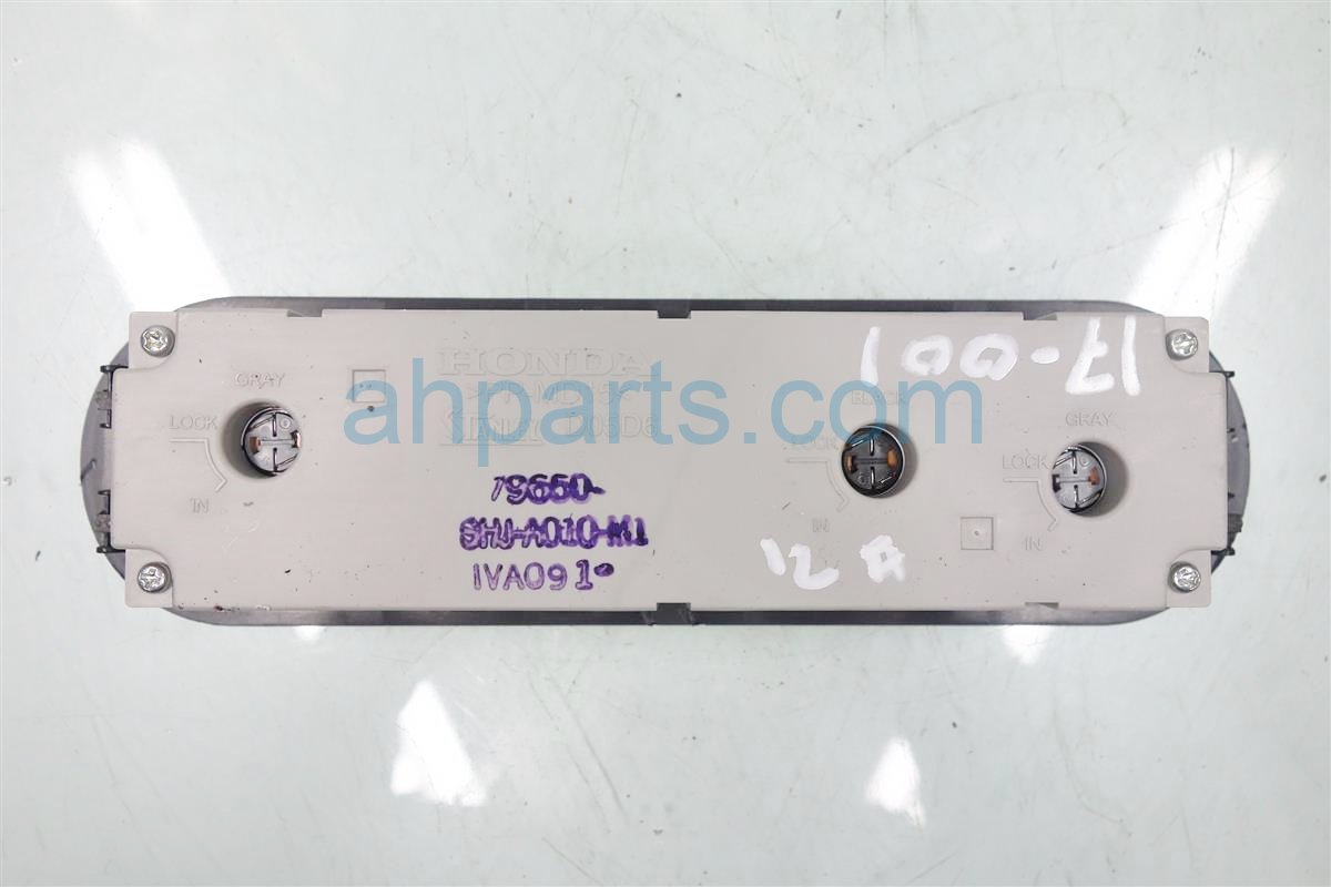 2007 Honda Odyssey Temperature AC heater REAR CLIMATE CONTROL GRAY 79650 SHJ A01ZB 79650SHJA01ZB Replacement
