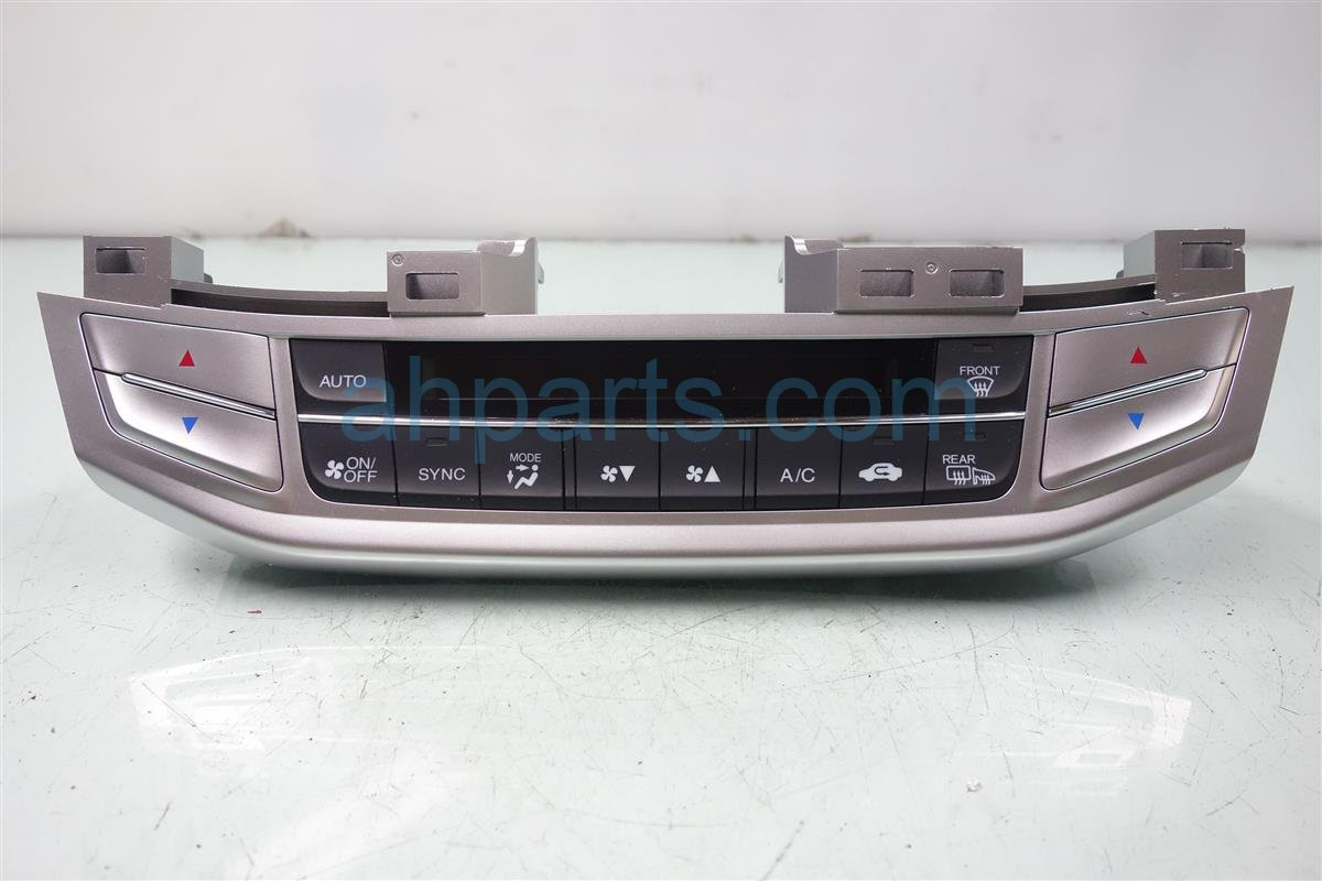 2014 Honda Accord Temperature Climate HEATER AC CONTROL ON DASH 79600 T2F A41 79600T2FA41 Replacement