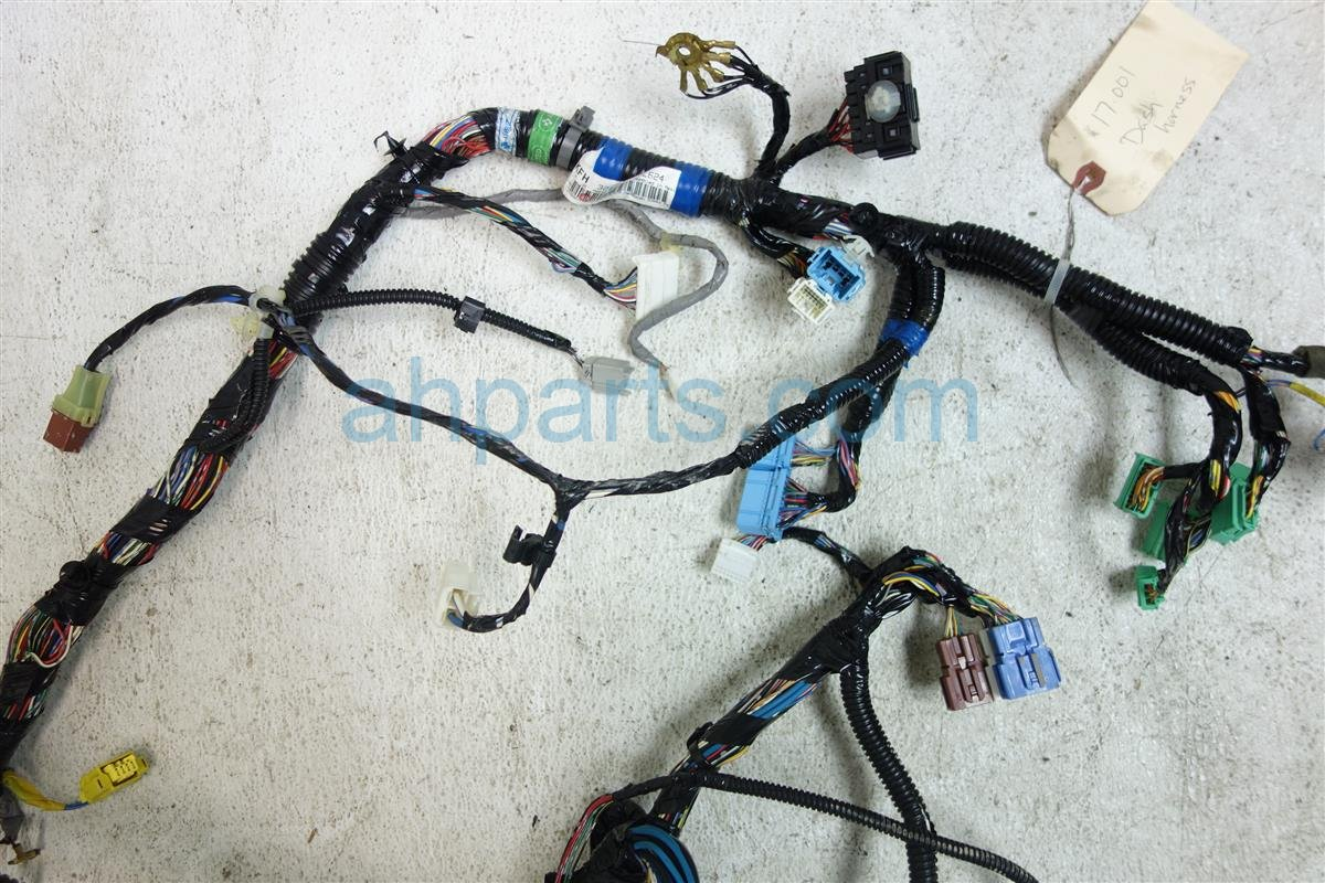 2007 Honda Odyssey INSTRUMENT DASH HARNESS 32117 SHJ L62 32117SHJL62 Replacement