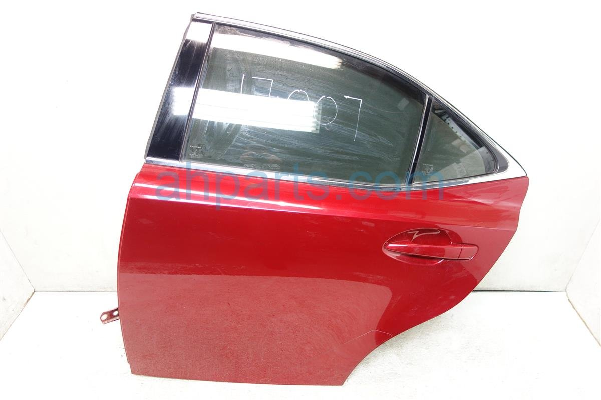 2015 Lexus Is 250 Rear driver DOOR NO TRIM PANEL RED Replacement
