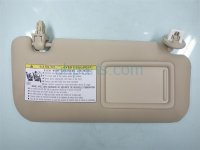 2015 Lexus Is 250 Passenger SUN VISOR TAN IVORY 74310 53520 A1 7431053520A1 Replacement