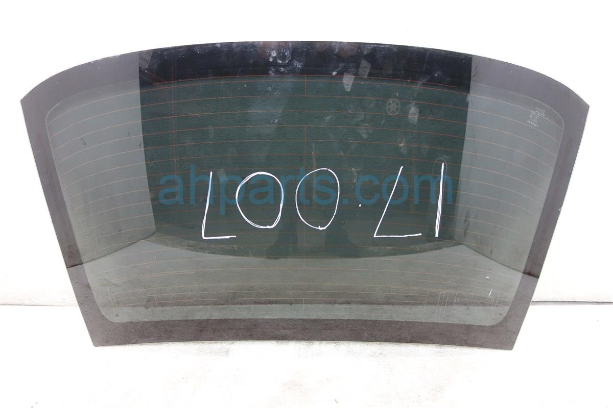2015 Lexus Is 250 Rear BACK GLASS WINDSHIELD Replacement