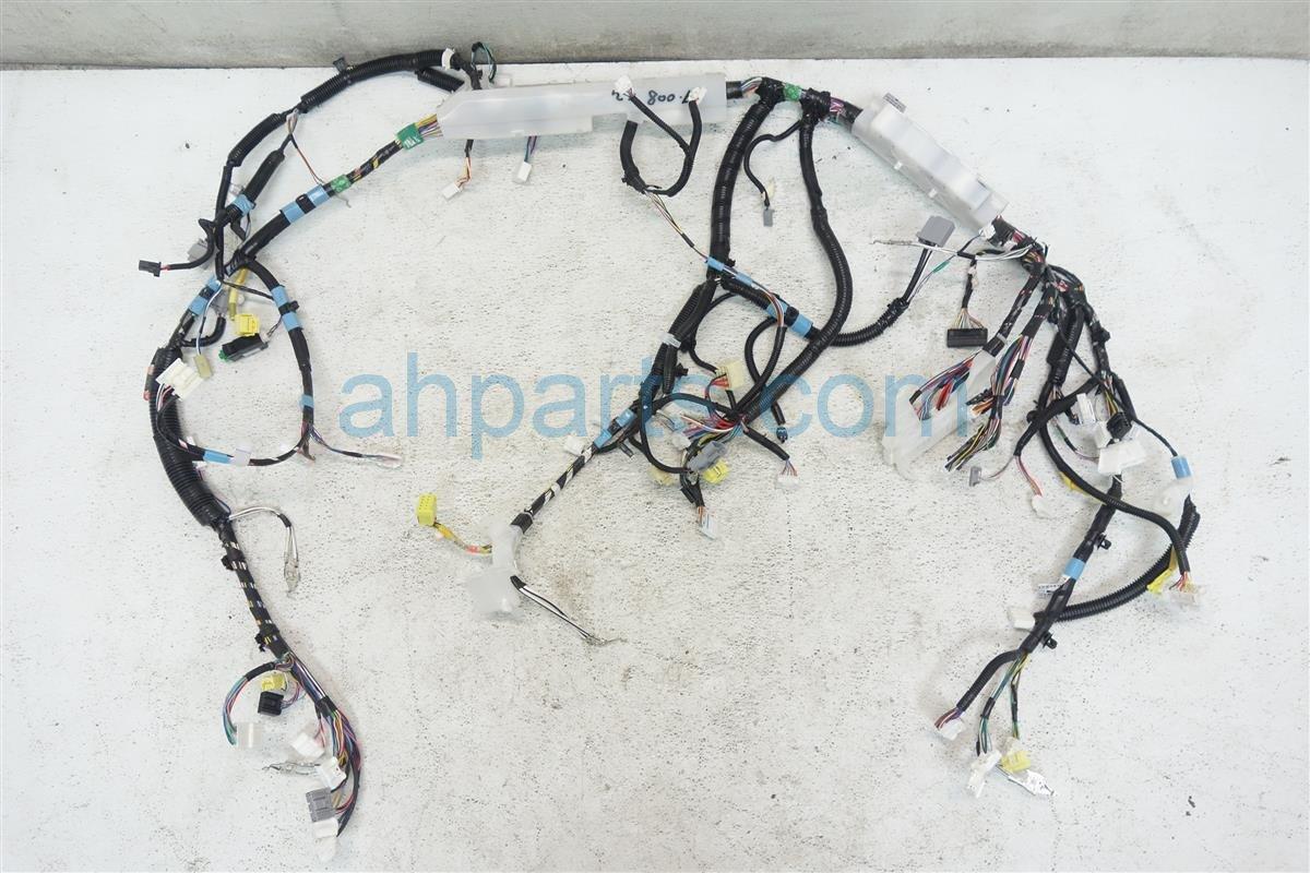 2012 Toyota Sienna INSTRUMENT DASH WIRING HARNESS 82141 08861 8214108861 Replacement