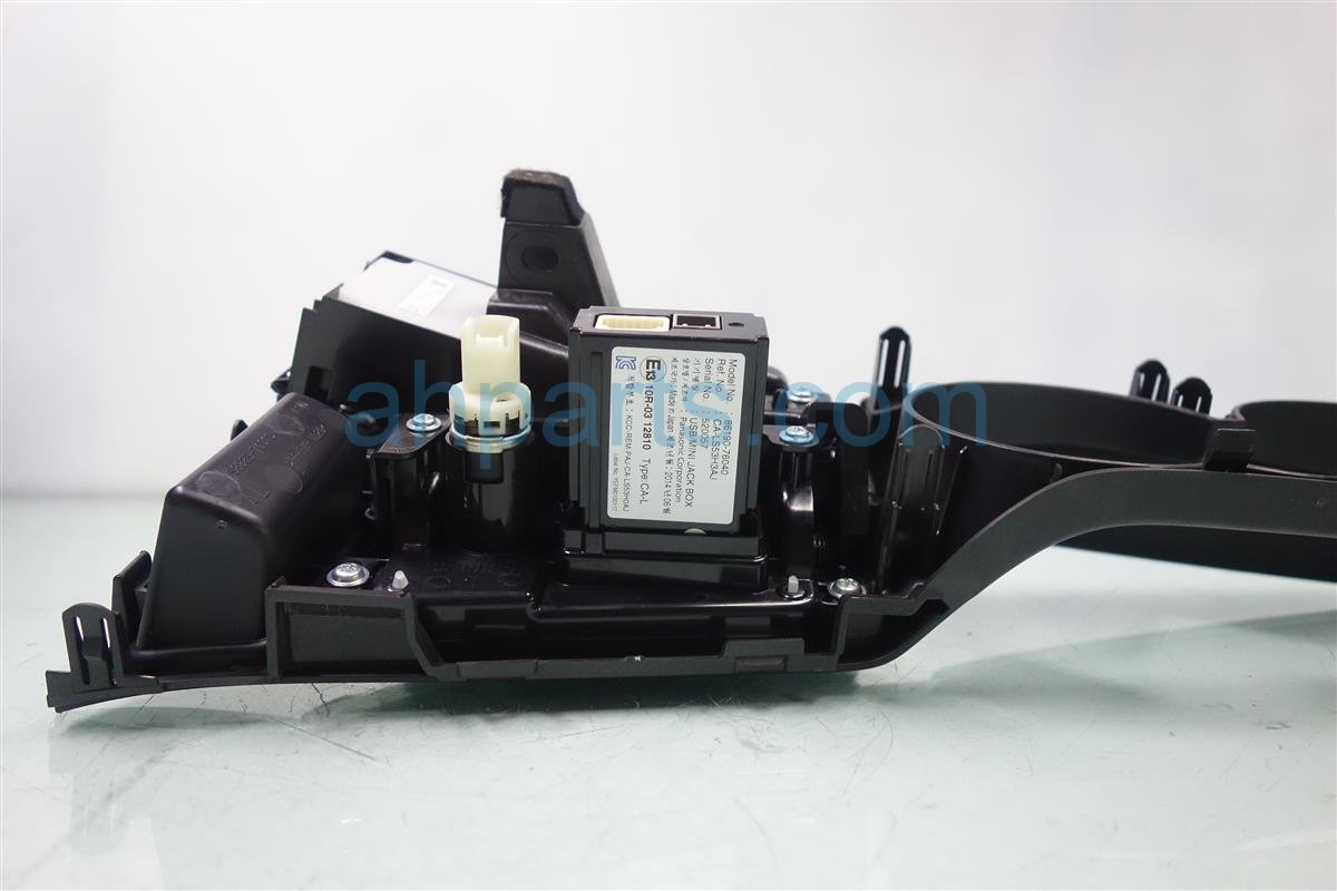 2014 Lexus Ct200h CENTER CONSOLE CONTROL BLACK 84782 7602084781 76110 84782760208478176110 Replacement