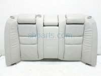 2006 Acura RL Back 2nd row REAR UPPER SEAT LEATHER GRAY Replacement
