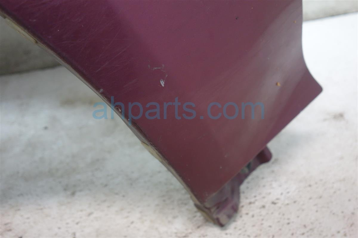 1993 Honda Civic Front 2DR Driver FENDER BURGUNDY 60261 SR3 506ZZ 60261SR3506ZZ Replacement