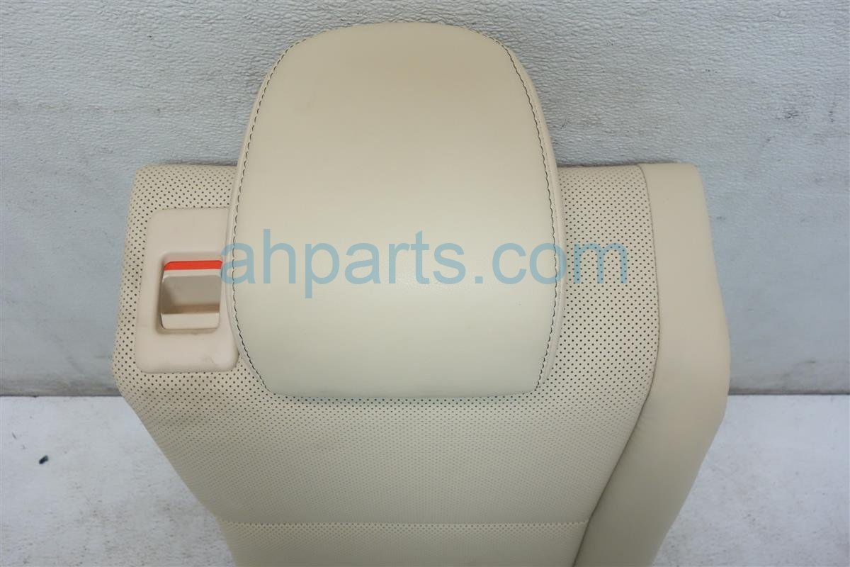 2015 Lexus Is 250 Back 2nd row REAR SEAT Passenger UPPER PORTION IVORY 71078 53090 A4 7107853090A4 Replacement