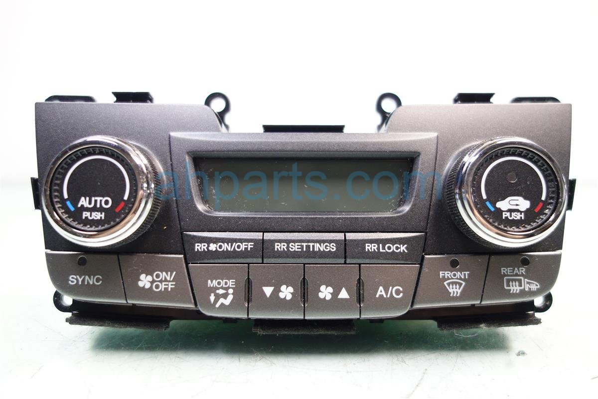2015 Honda Odyssey Temperature Climate HEATER AC CONTROL ON DASH 79600 TK8 A43ZB 79600TK8A43ZB Replacement