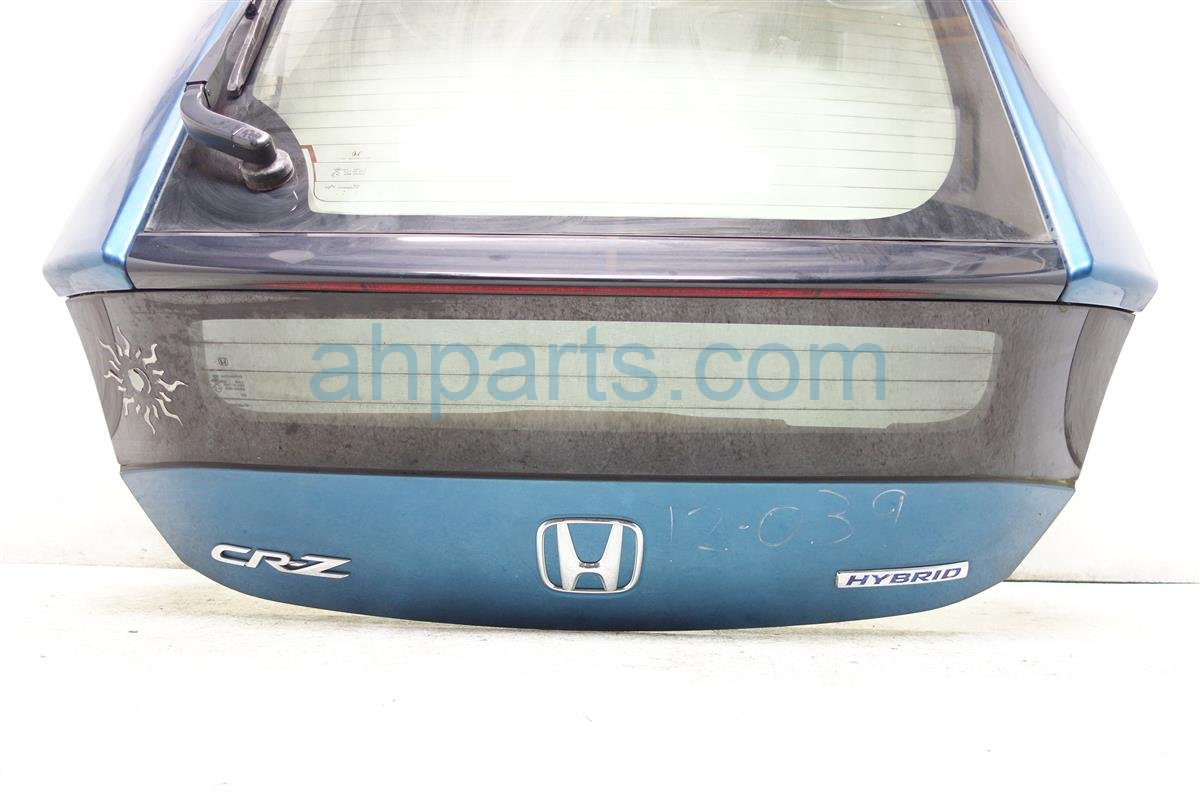 2012 Honda CR V TRUNK DECKLID GATE BLUE 68100 SZT A90ZZ 68100SZTA90ZZ Replacement