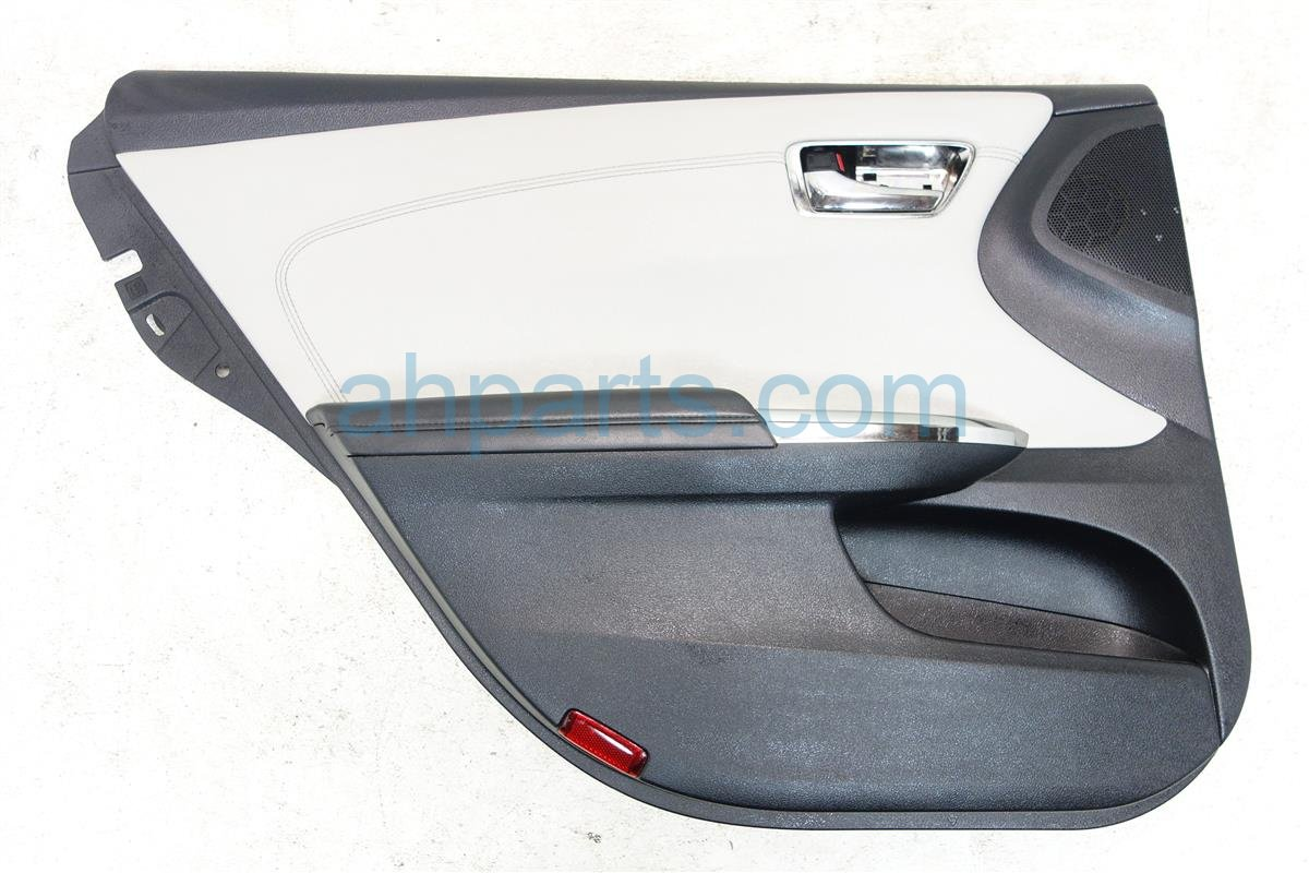2016 Toyota Avalon Liner Rear driver DOOR PANEL BLACK W GRAY TRIM 67640 07120 C9 6764007120C9 Replacement