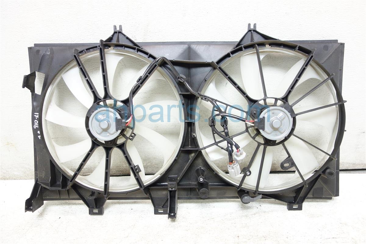 2016 Toyota Avalon Cooling RADIATOR FAN ASSEMBLY Replacement