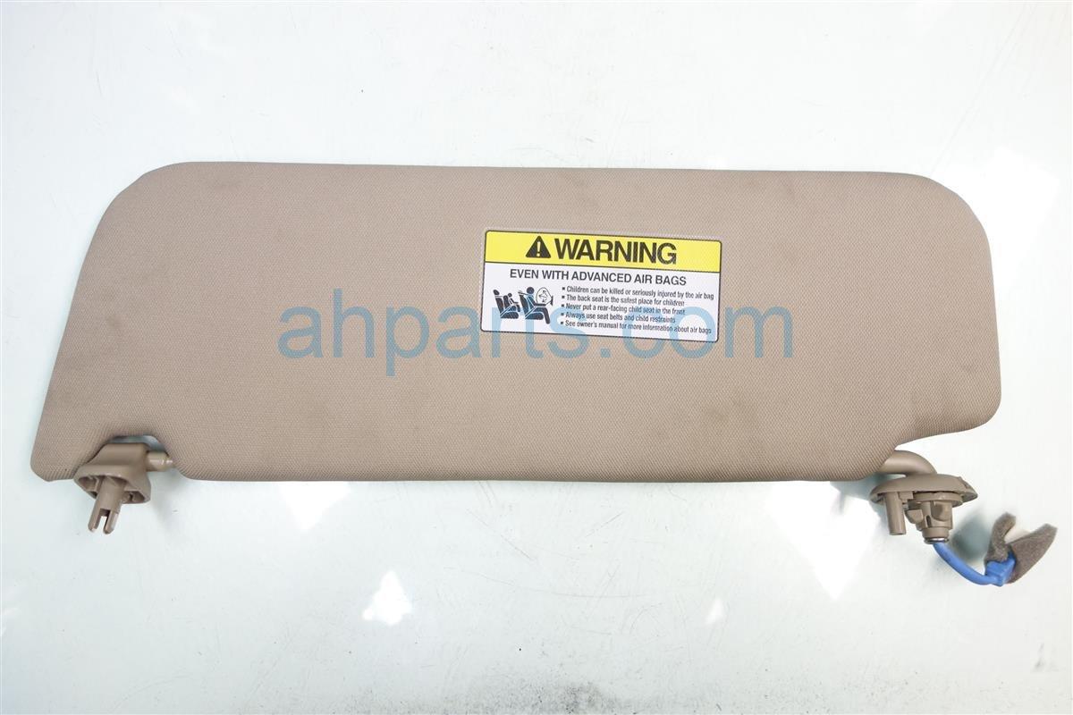 2014 Honda Odyssey Passenger SUN VISOR BEIGE 83230 TK8 A02ZC 83230TK8A02ZC Replacement