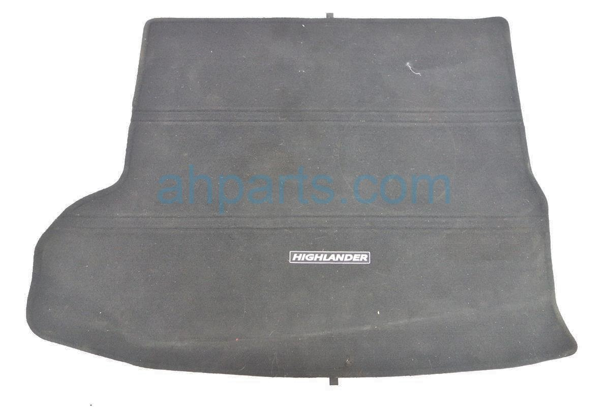 2014 Toyota Highlander CARPET CARGO MAT BLACK Replacement