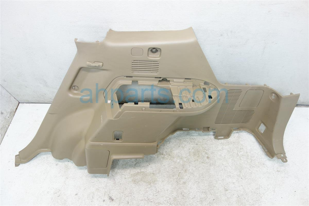 2008 Toyota Highlander Passenger INNER QUARTER TRIM PANEL TAN 64730 48090 E0 6473048090E0 Replacement