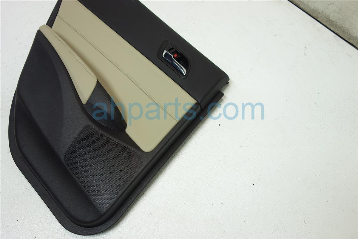 2017 Acura ILX Rear driver DOOR PANEL TRIM LINER TAN 83751 TV9 A31ZA 83751TV9A31ZA Replacement