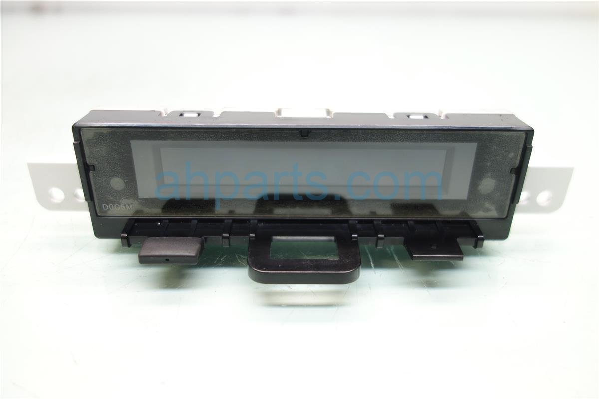 2017 Acura ILX LOWER CLIMATE CONTROL DISPLAY 79650 TX6 A41 79650TX6A41 Replacement