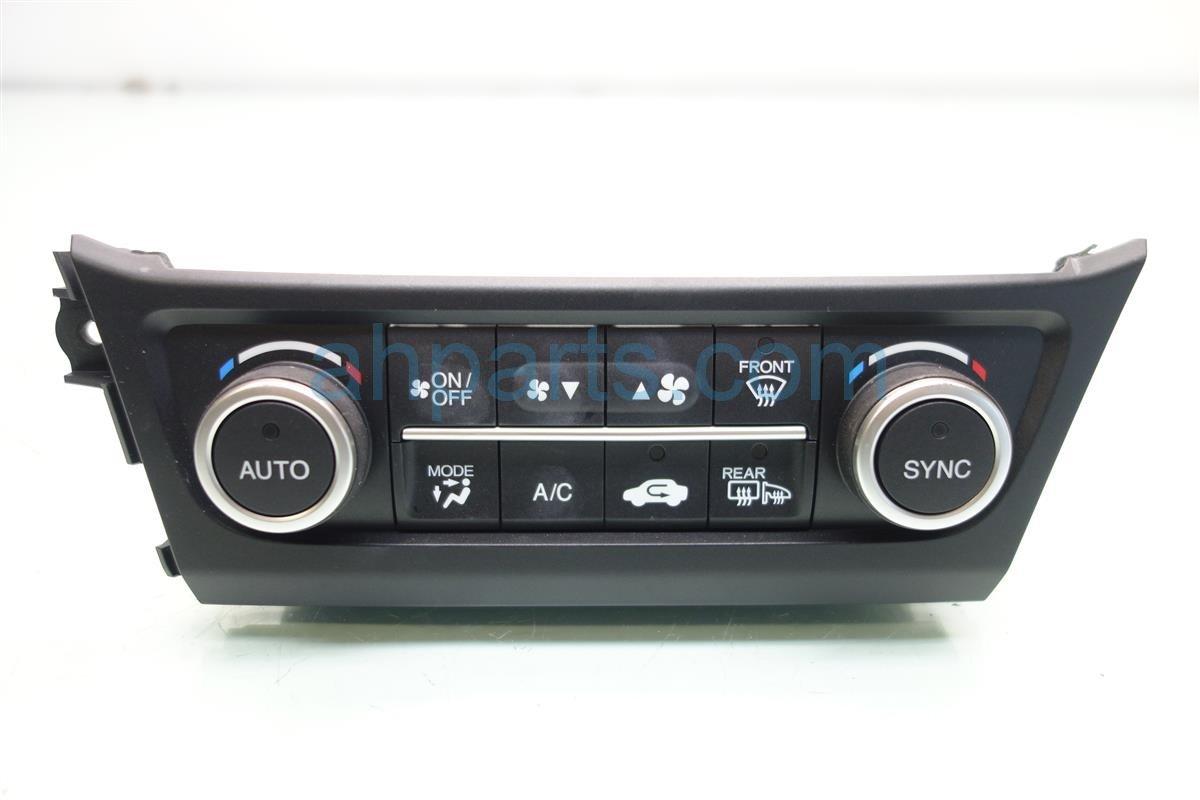 2017 Acura ILX Temperature Climate HEATER AC CONTROL ON DASH 79607 TV9 A41ZA 79607TV9A41ZA Replacement