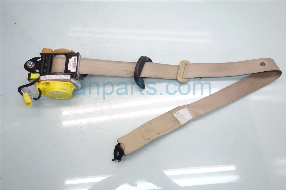 2006 Acura RL Front passenger SEAT BELT TAN Replacement