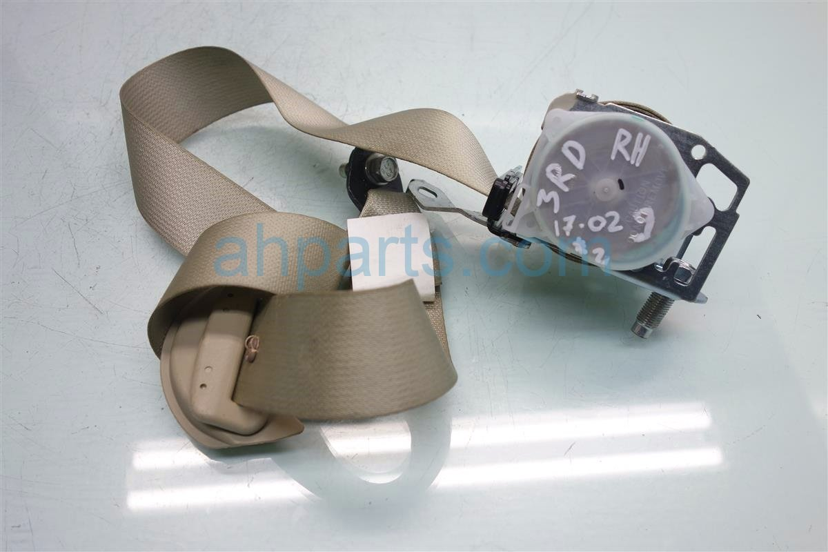 2014 Acura MDX Rear 3RD ROW Passenger SEAT BELT TAN 04824 TZ5 A00ZA 04824TZ5A00ZA Replacement