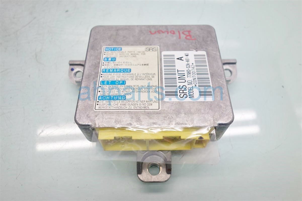 2008 Honda S2000 SRS CONTROL MODULE BLOWN 77960 S2A A61 77960S2AA61 Replacement