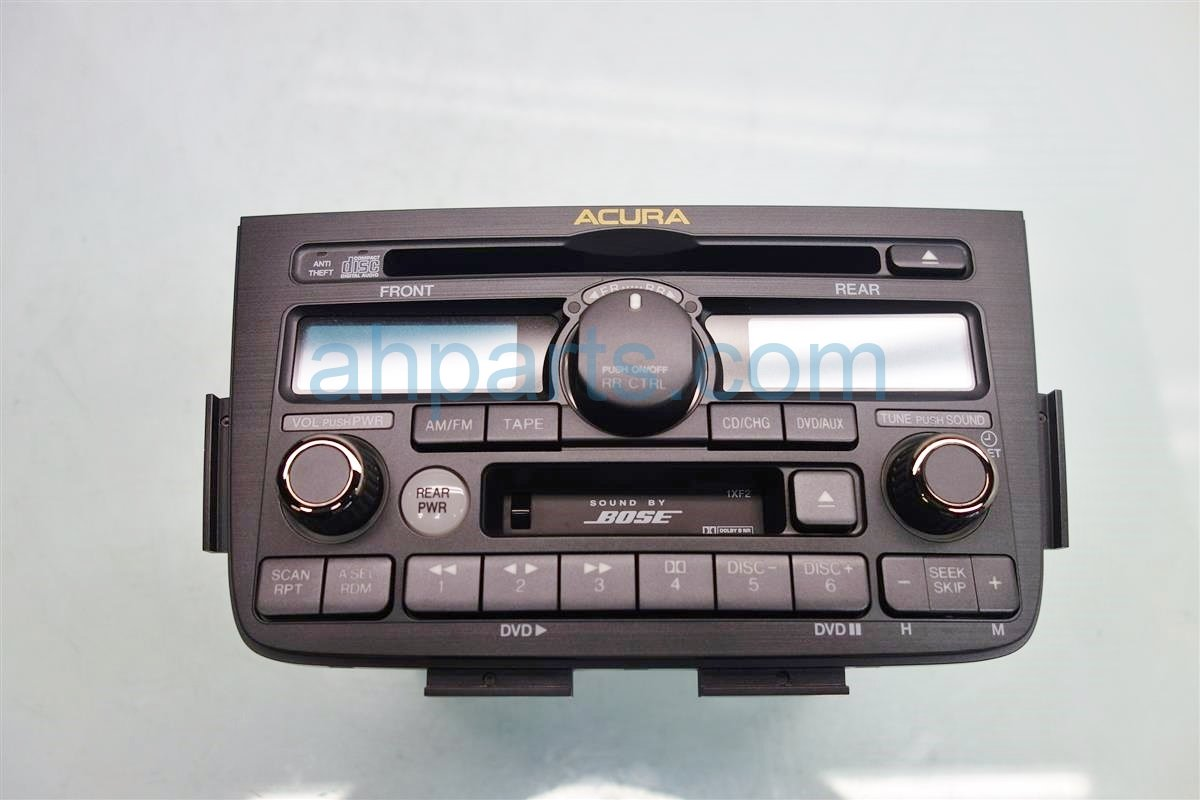 2005 Acura MDX AUDIO RADIO W NAVI ID 1XF2 REFURB 39110 S3V A61 39110S3VA61 Replacement