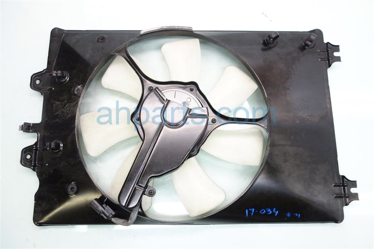 2012 Honda Pilot Cooling AC CONDENSER FAN ASSEMBLY 38616 RN0 A71 38616RN0A71 Replacement