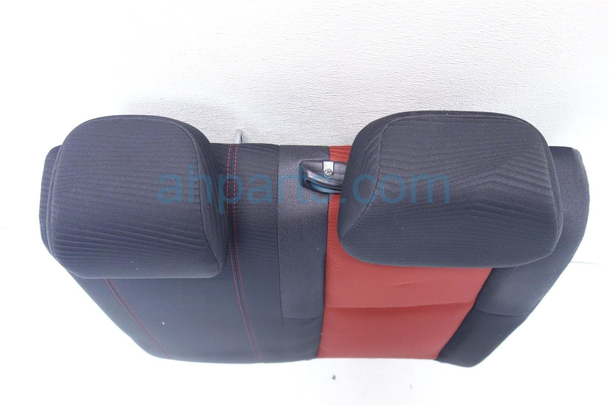 2015 Honda Civic 2nd row Rear driver UPPER BACK SEAT BLACK RED SI 82527 TS8 A41 82527TS8A41 Replacement
