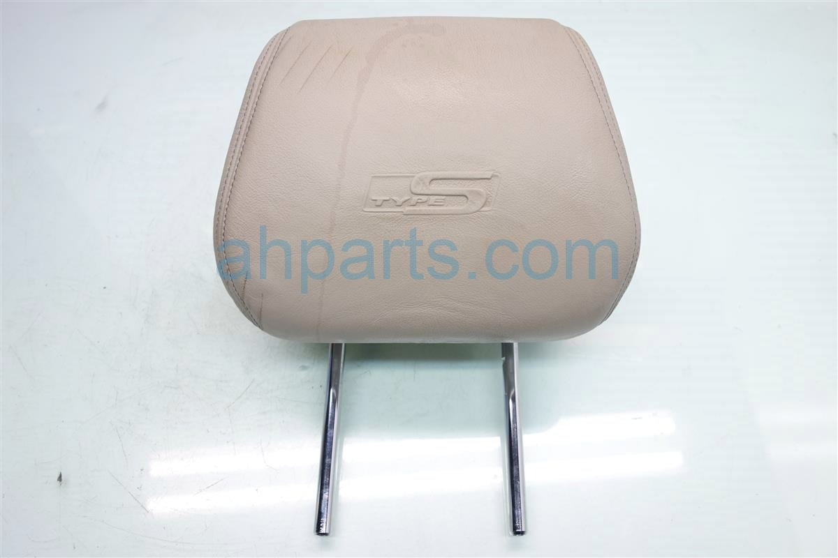 2007 Acura TL Front passenger HEADREST CREAM GRAY TYPE S 81140 SEP A31ZB 81140SEPA31ZB Replacement