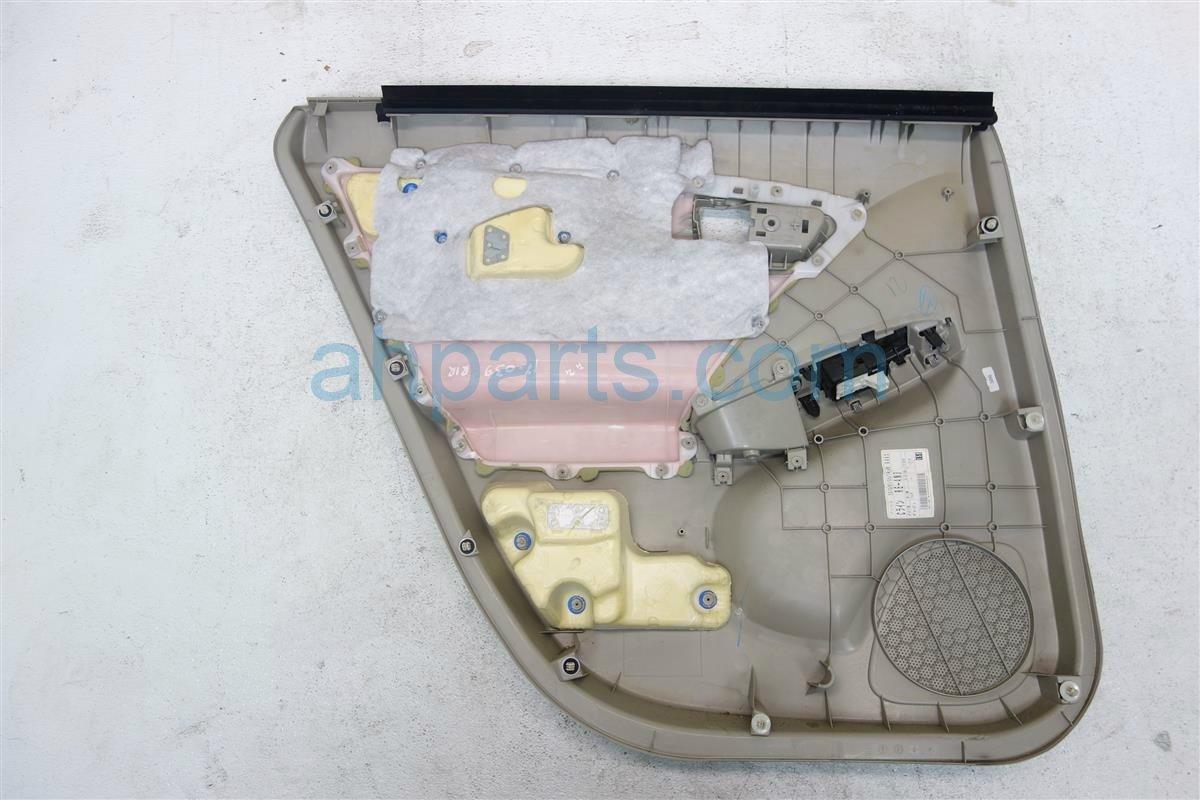 2010 Toyota Prius Rear passenger DOOR PANEL TRIM LINER TAN 67630 47261 E0 6763047261E0 Replacement