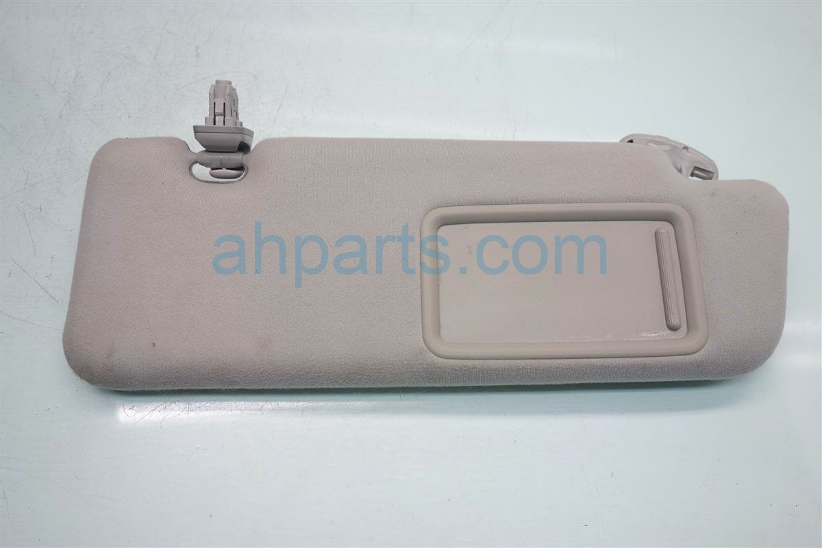 2010 Toyota Prius Passenger SUN VISOR TAN Replacement