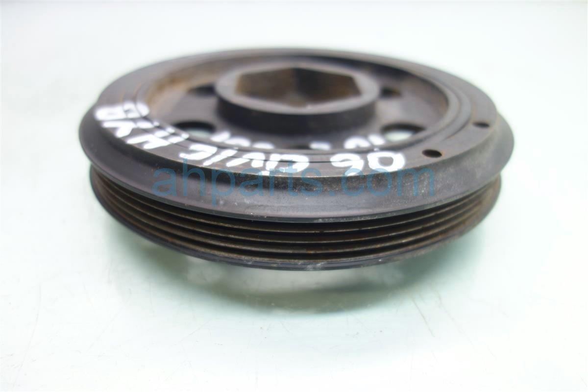 2006 Honda Civic Shaft 1 3L HARMONIC BALANCER CRANK PULLEY 13810 RMX 003 13810RMX003 Replacement