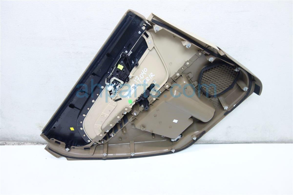 2010 Acura MDX Rear passenger DOOR PANEL TRIM LINER 83731 STX A03ZB 83731STXA03ZB Replacement