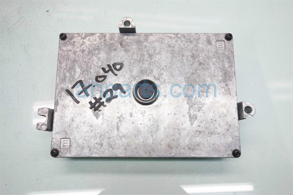 2010 Acura MDX Control module ENGINE COMPUTER ECU Replacement