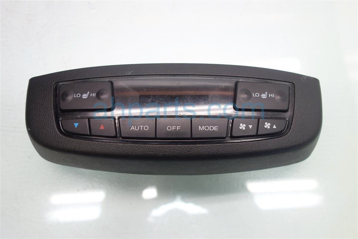 2009 Acura MDX Temperature Climate HEATER AC CONTROL REAR Replacement