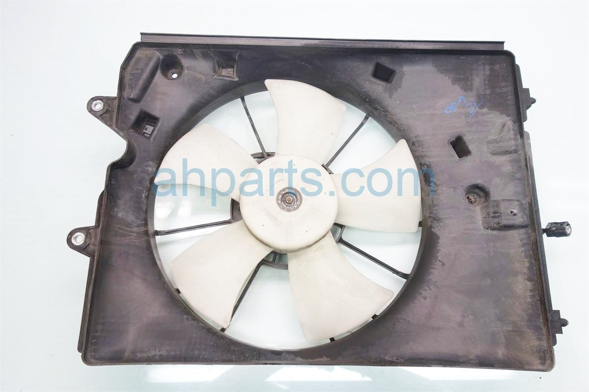 2009 Acura MDX Cooling RADIATOR FAN ASSEMBLY Replacement