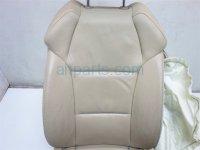 2010 Acura MDX Front driver UPPER SEAT PORTION BLOWN BAG 04815 STX L21ZC 04815STXL21ZC Replacement