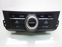 2014 Honda Accord NAVIGATION CONTROL PANEL BUTTONS Replacement