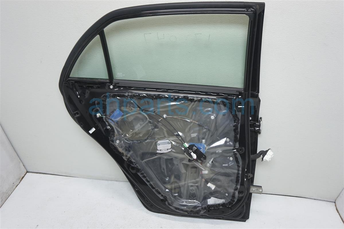 2012 Toyota Corolla Rear driver DOOR BLACK PEARL 67004 02220 6700402220 Replacement
