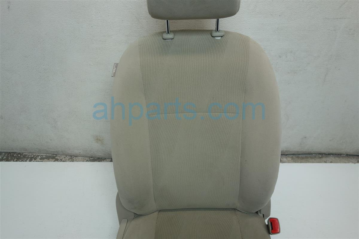 2012 Toyota Corolla Front passenger SEAT LIGHT TAN CLOTH Replacement