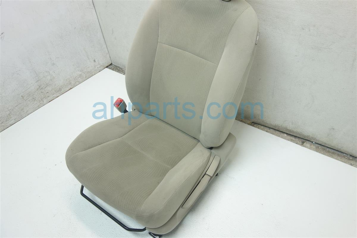 2012 Toyota Corolla Front driver SEAT IVORY CLOTH Replacement