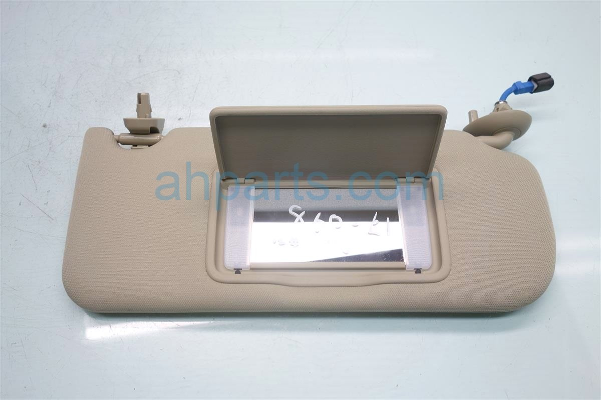 2015 Acura TLX Passenger SUN VISOR TAN Replacement